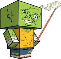 Cubee - The Toxic Avenger by 7ater