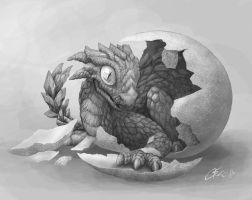 Hatchling WIP by dashase