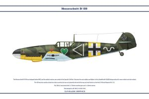 Bf 109 G-2 JG54 1 by WS-Clave