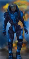Garrus everyday walk by clavica