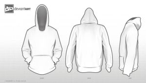 Hoodie Template for competition by Nickybrenzel
