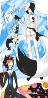 Catto and Giller -gijinka- by Koby-chan