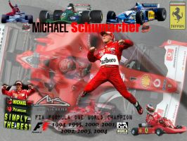 Michael Schumacher by DMH82