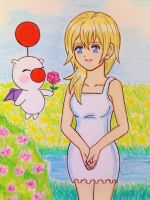 Namine and Mog by dagga19 by dagga19