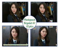 Photopack Krystal F(x) #1 In The Heirs By JungPuNy by jungpuny