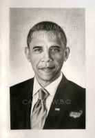 Obama by camillewb