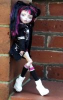 Tokyo Baby - Monster High Doll repaint by mortimersparrow
