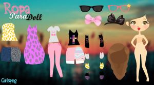 Pack de ropa para dolls by Girlspng