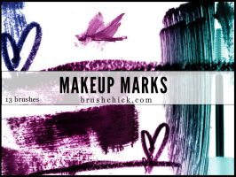 Makeup Marks PS Brushes by brushchick