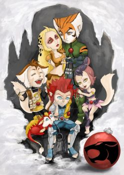 Thundercats Whiskers by ladylionink