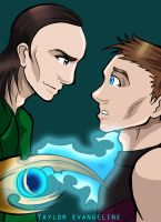 Commission - Clint + Loki for Rachiibabes by TaylorKestrel