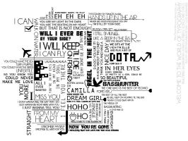 Welcome To The World Of Typography - Basshunter by furanshizuryuu