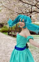Miku Hatsune: Spring Time by Cytanin