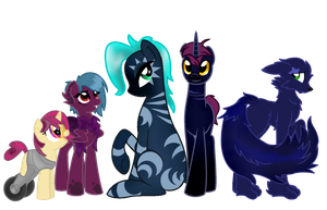 Family of Oddities by DraconianQueen