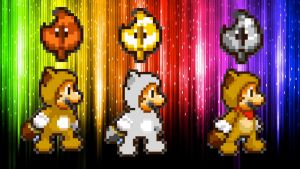Super Mario 3D Land Tanooki Power-ups by babyluigi957