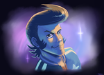 Dandy in Space by Frario