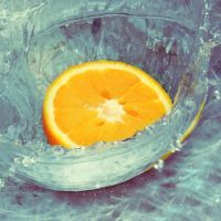 orange splash by klinter