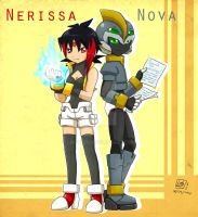 -Request (+Gift)- Nerissa and Nova by Lady2011