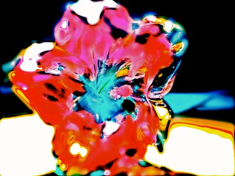 Glass Flower Edit by translucentstripes