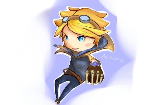 League Of Legends: Ezreal by Felcoxia