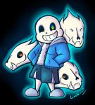 Undertale Sans by I-Am-Bleu