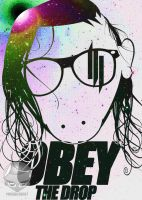Skrillex OBEY by Maverickeast