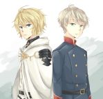 Mika-kun and Slaine by littleevilaccident