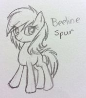Beeline Spur by mashaheart