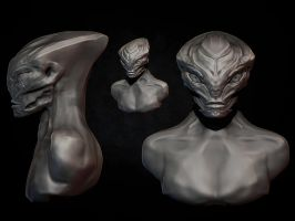 Bioware Mass Effect 3D Challenge - Progress 2 by eXecutex