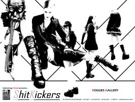 Shit Kickers: Rogues Gallery by Ahrum