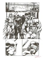 Snake Eyes  page by RyouKugaInk