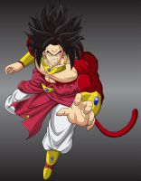 Another Broly SSJ4 by MasterRottweiler