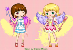 Paradise Angel Dress up Game by willbeyou