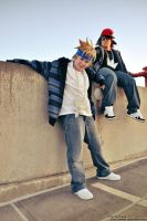 KH: We Be Rockin' Them Beats by skwinkography