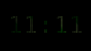 11:11 Binary wallpaper by 20after4
