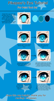 Eye Coloring Tutorial by Pikapaws