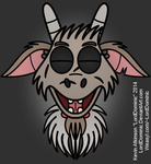 Garry the Goat Facial Animation Test by LordDominic