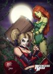 Harley Quinn and Poison Ivy by RecklessHero
