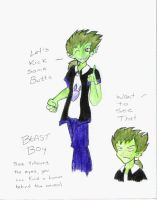 Beast boy by Bellette