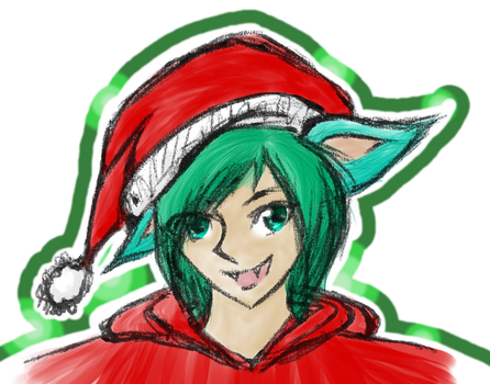 Christmas hat by CaroShadow