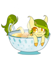 Skimmer Adopt - Tea Themed (CLOSED) by FuyusFox