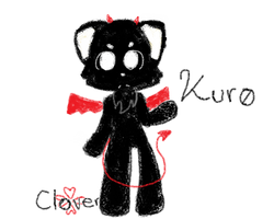 Kuro by xXClovertheCat52Xx