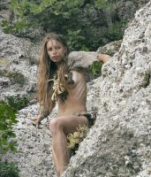 Cave girl #8 by ohlopkov