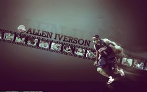 Allen Iverson by sha-roo