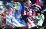 Phantasy Star Universe by AeonKnightxTidus