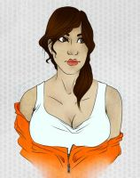Chell by hauntjelly