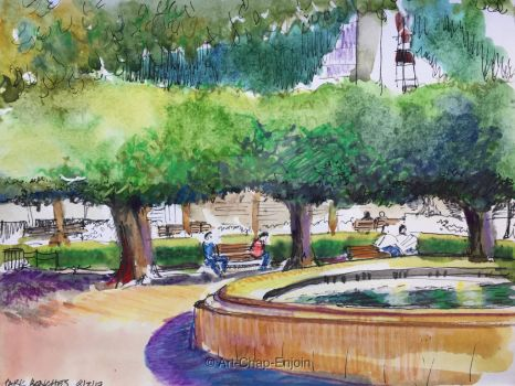 #442 - Park benches by Art-Chap-Enjoin
