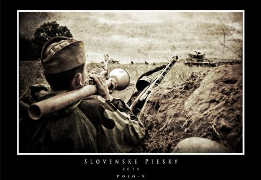 Reenactment in Slovakia (WWII.) by Polo-X