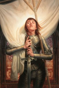 Joan of Arc by Michael-C-Hayes