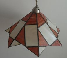 lamp Stained Glass by ritsasavvidou